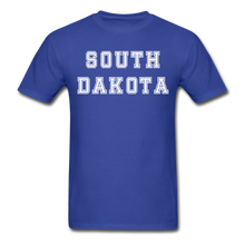 Load image into Gallery viewer, South Dakota T-Shirt - royal blue