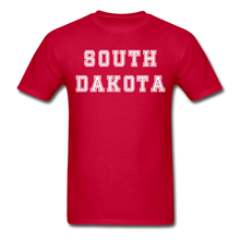 Load image into Gallery viewer, South Dakota T-Shirt - red