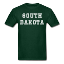 Load image into Gallery viewer, South Dakota T-Shirt - forest green