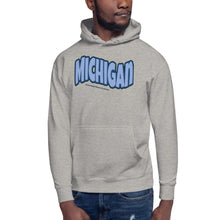 Load image into Gallery viewer, Michigan Midwestern Flexin Men's Hoodie