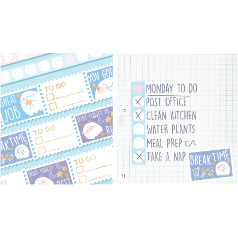 TO-DO Washi Set PREORDER
