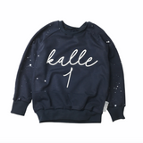 BIRTHDAY SWEATER NAME + NUMBER COLOR SELECTION