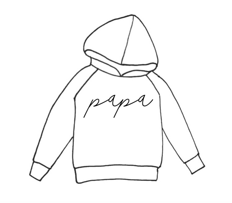 DAD HOODIE PRINT COLOR SELECTION