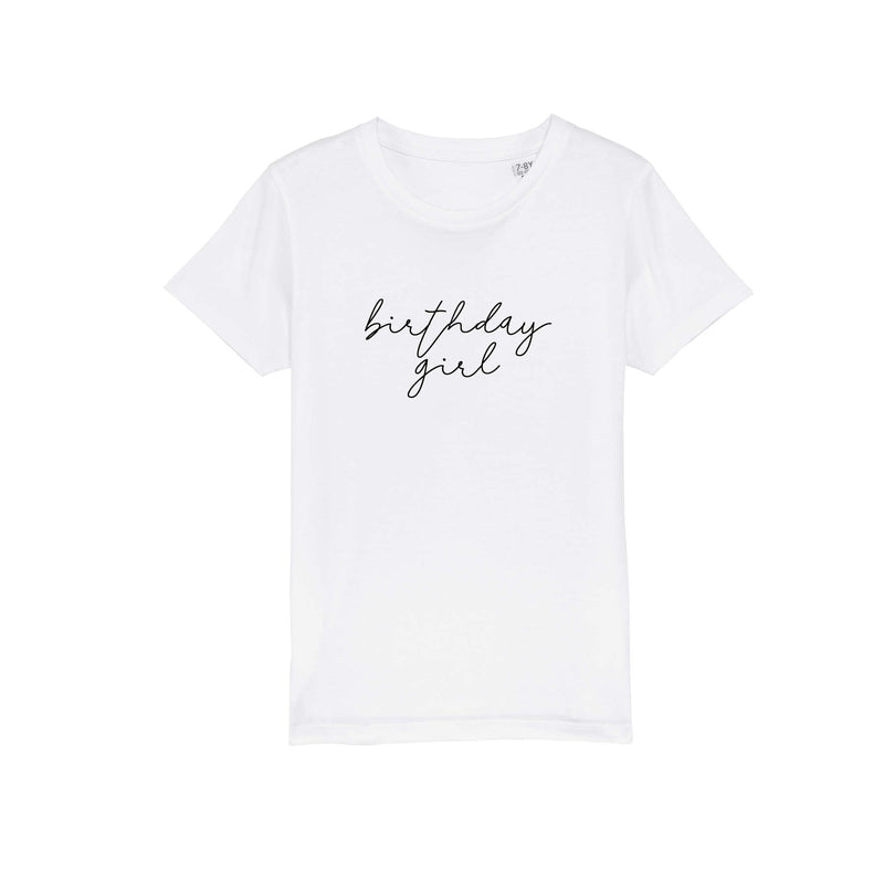 BIRTHDAY TEE WHITE