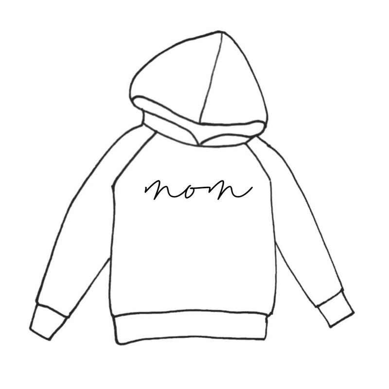 MOM HOODIE PRINT COLOR SELECTION