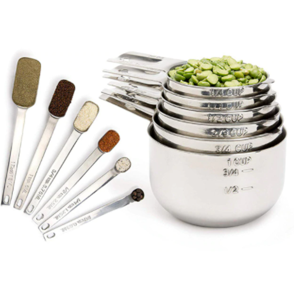 Kita Premium Measuring Cups and Spoons Set