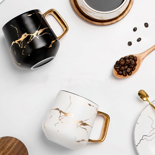 Nendo Marble Coffee Mugs