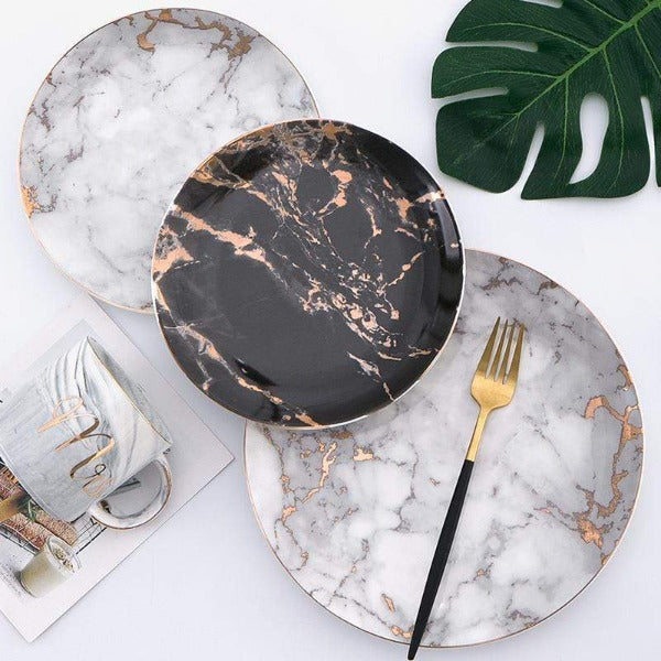 Nendo Marble Plate Collection