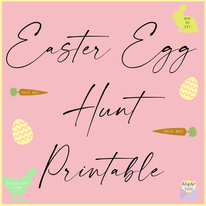 Plan an Easter Egg Hunt - FREE Printable