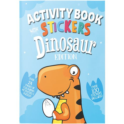 Dinosaur Activity Book with Stickers
