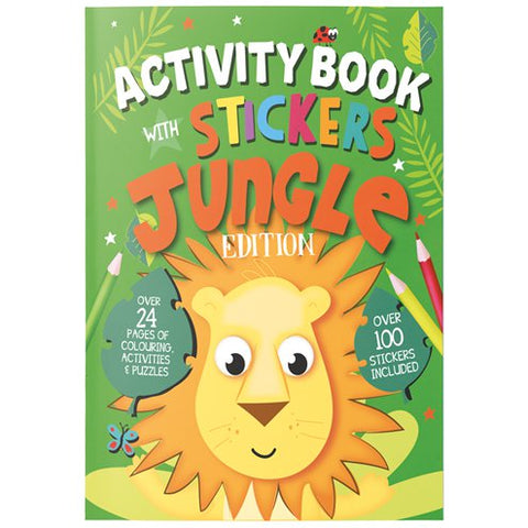 Jungle Activity Book with Stickers