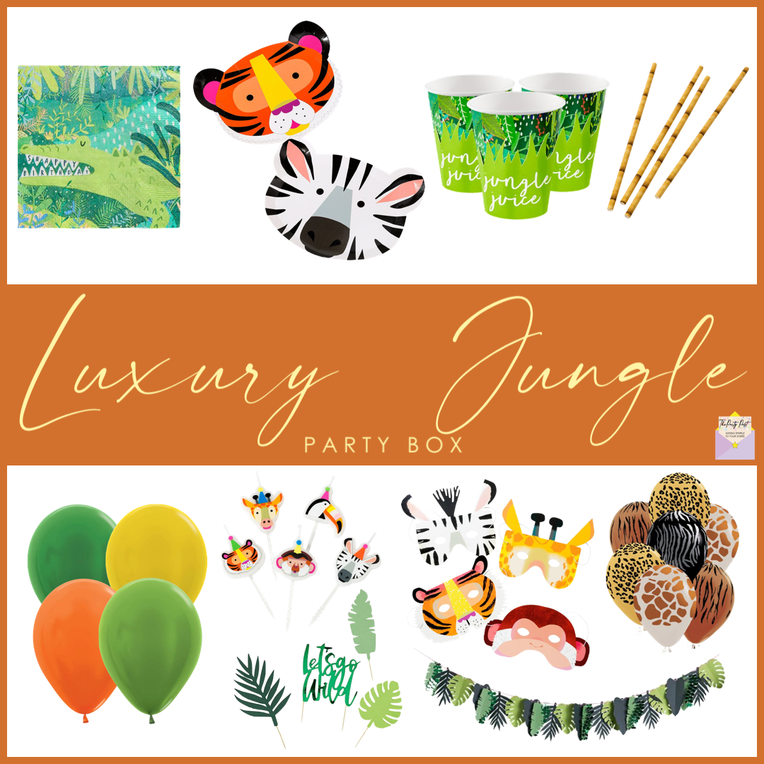 Jungle Party Box - Luxury