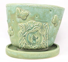 Load image into Gallery viewer, Amelia Armitage Ceramics gnome sculptural planter with drip trap