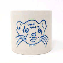Load image into Gallery viewer, Reclamation Black Studios ferret pot blue