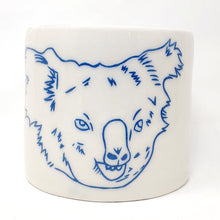 Load image into Gallery viewer, Reclamation Black Studios Koala pot blue