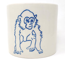 Load image into Gallery viewer, Reclamation Black Studios Monkey pot blue
