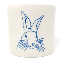 Load image into Gallery viewer, Reclamation Black Studios Rabbit pot blue
