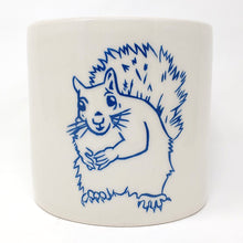 Load image into Gallery viewer, Reclamation Black Studios Squirrel pot blue