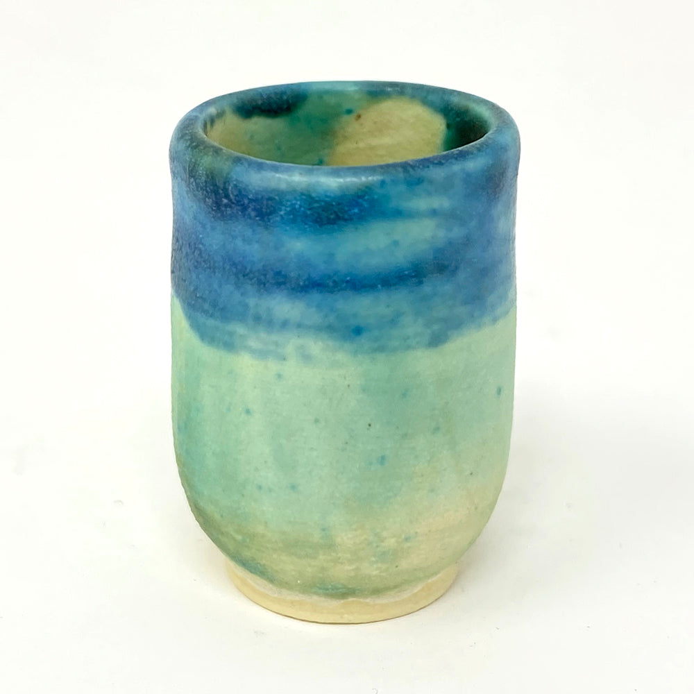 Jaye Atelier mini blue green pot