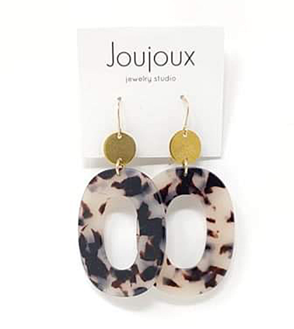 Toru Tortoiseshell Earrings