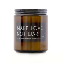 Load image into Gallery viewer, OkCollective Make Love Not War Soy Wax Candle