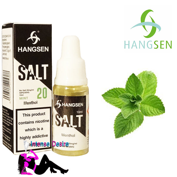 Menthol Nic Salt Flavour E-Liquid / E-Juice 50/50 Pg/Vg 10ml 20mg - Hangsen