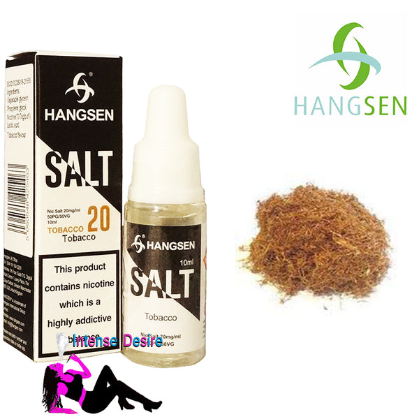 Tobacco Nic Salt Flavour E-Liquid / E-Juice 50/50 Pg/Vg 10ml 20mg - Hangsen