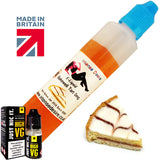 Cherry Bakewell Tart Flavour E-Liquid / E-Juice 60ml Short Fill Bottle - Intense Desire