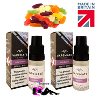 Jelly Babies E-Liquid / E-Juice 10ml - VapeMate Classics