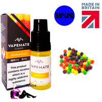 Rainbow Fruits E-Liquid / E-Juice 10ml - VapeMate Classics