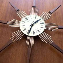 Load image into Gallery viewer, Snider Starburst Clock