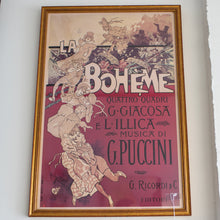 Load image into Gallery viewer, La Boheme Art Print
