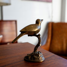 Load image into Gallery viewer, Brass Bird on a Branch - 703