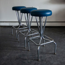 Load image into Gallery viewer, Vintage Bar Stools (Set of 3)