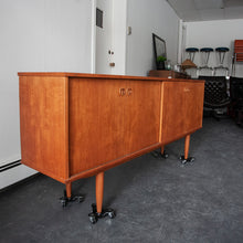 Load image into Gallery viewer, Teak Credenza (Finished Back)