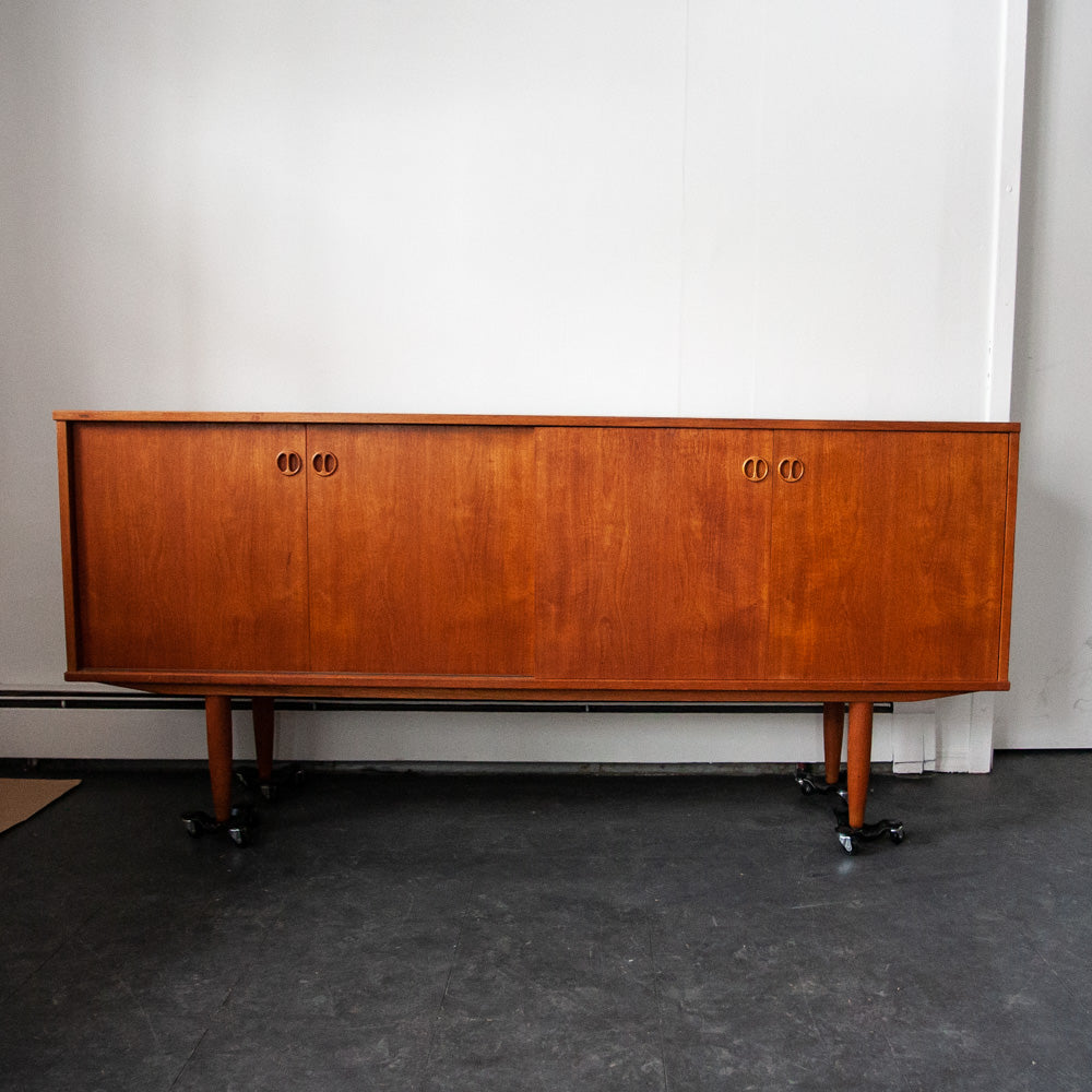 Teak Credenza (Finished Back)