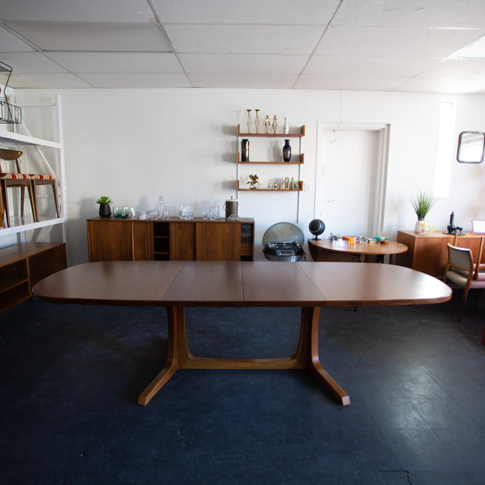 Danish Rosewood Dining Table by Niels Otto Møller for Gudme Møbelfabrik
