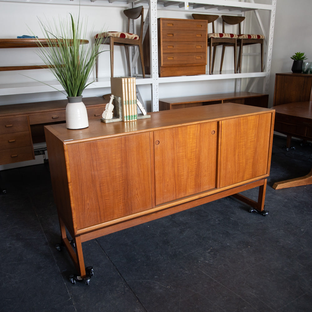 Teak Credenza by Axel Christiansen for ACO Mobler
