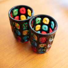 Load image into Gallery viewer, Mosaic Glasses - Made in Japan (Set of Two)