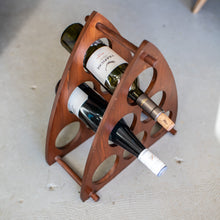 Load image into Gallery viewer, Wood Wine Rack