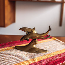 Load image into Gallery viewer, Brass Dolphins - 073