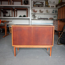 Load image into Gallery viewer, Teak Cabinet w/ Front & Back Sliding Doors - 612