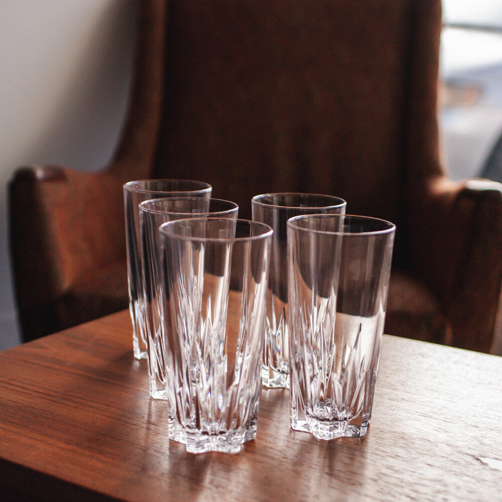 Crystal Highball Glasses x 4 - 770