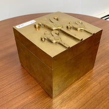 Load image into Gallery viewer, Brass Jewelry Box