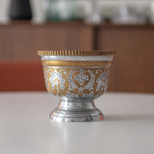 Load image into Gallery viewer, Etched Brass Chalice