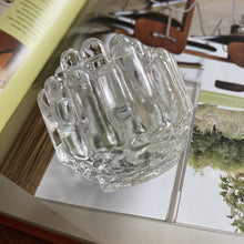 Load image into Gallery viewer, Vintage Kosta Boda Polar Ice Candle Holder