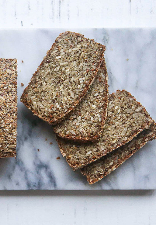 Baked Quinoa, Sunflower Seed and Vegetable Loaf