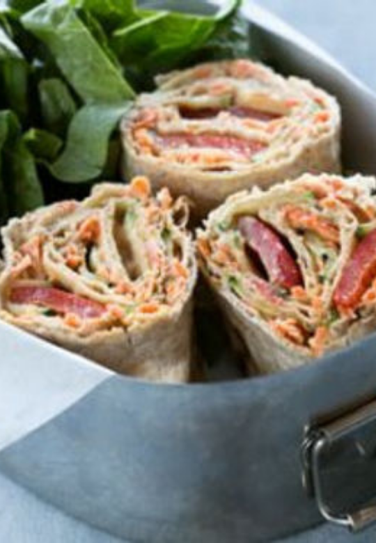 Grilled Vegetable Pinwheel