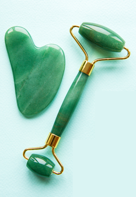 Tips on Using Jade Rollers and Gua Sha Stones