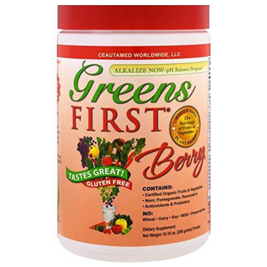 Doctors for Nutrition Greens First -Berry Flavour (282 grams)